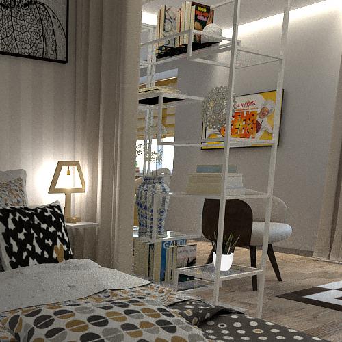 дизайн проект Мельникайте однокомнатная квартира