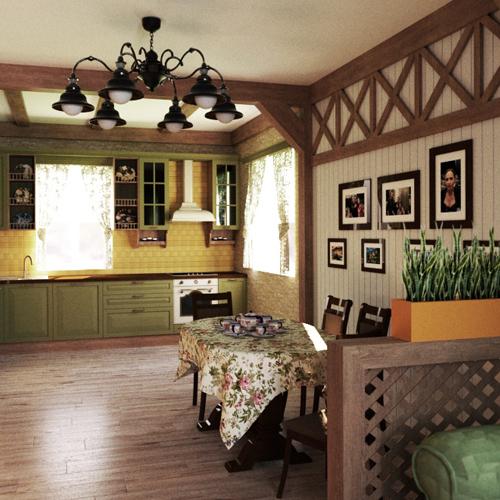 обложка кухня гостиная луговое