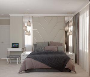 Тюмень дизайн проект спальня Европейский